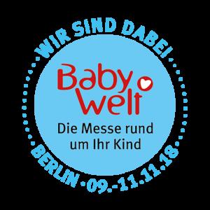 Babywelt Messe 2018 - Wir sind dabei