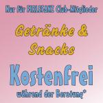 Firlefanz Club Vorteil - kostenfreie Getränke & Snacks