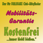 Firlefanz Club Vorteil - kostenfreie Mobilitätsgarantie
